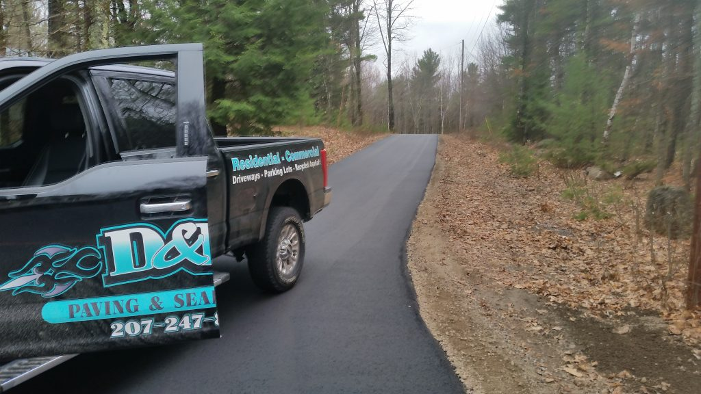DR Paving Company Truck
